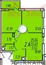 Двухкомнатная квартира в ЖК Маршал Сити   Агентство недвижимости Юго-Запад
