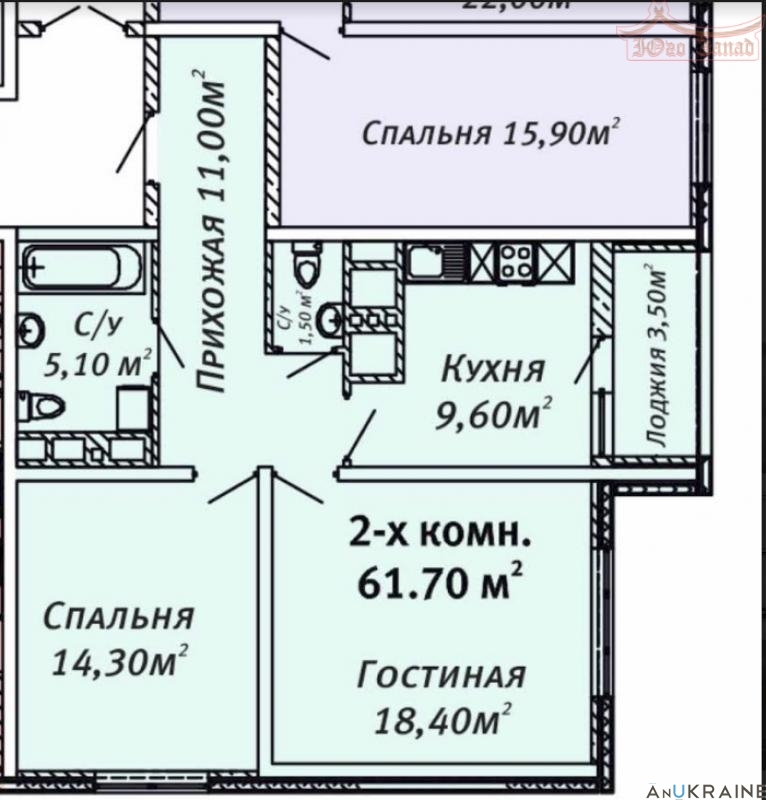 2 комн. квартира в ЖК Альтаир -1  | Агентство недвижимости Юго-Запад