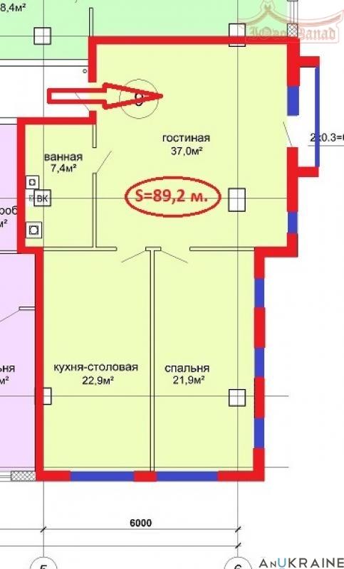 2-комнатная квартира на ул. Пушкинская. | Агентство недвижимости Юго-Запад