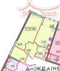 Однокомнатная квартира в 36 Жемчужине | Агентство недвижимости Юго-Запад