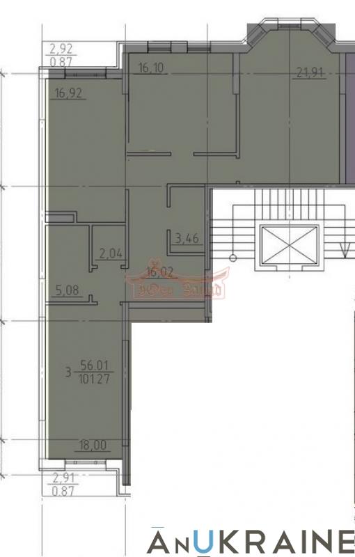 Трехкомнатная квартира в 23 Жемчужине   Агентство недвижимости Юго-Запад