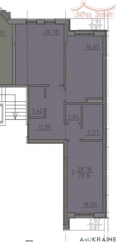 Двухкомнатная квартира в 23 Жемчужине | Агентство недвижимости Юго-Запад