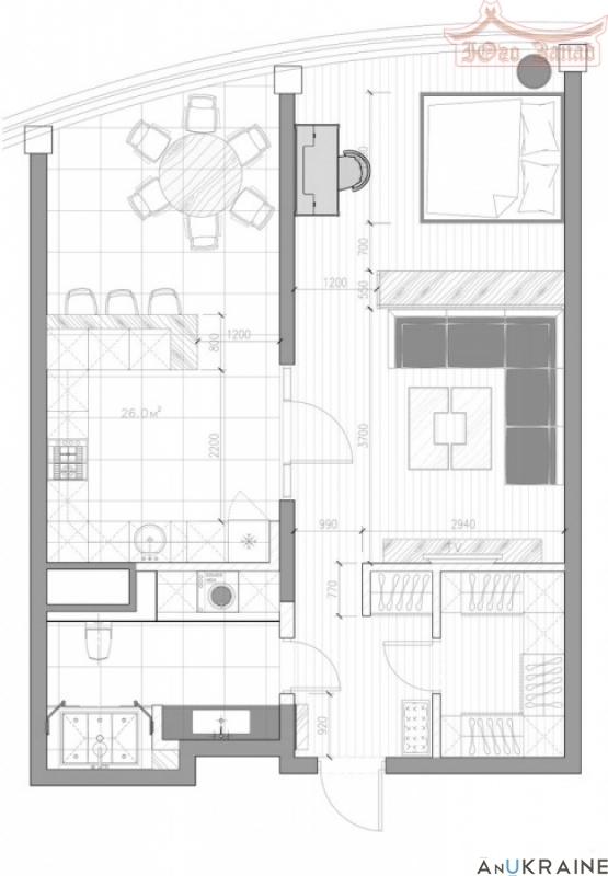 Шикарная квартира в Аркадии с видом на море  | Агентство недвижимости Юго-Запад
