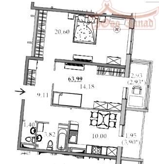 Продам квартиру в новострое  на Таирова !   Агентство недвижимости Юго-Запад