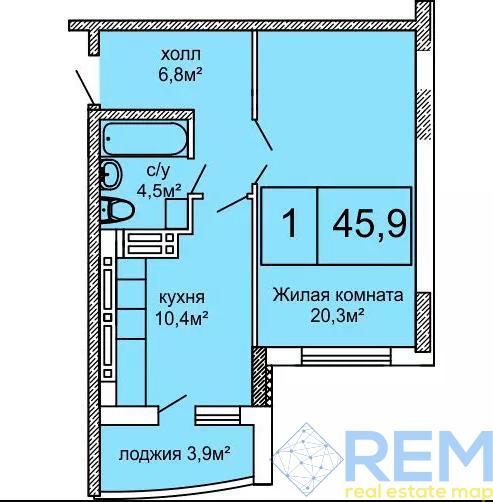 Большая 1 квартира в ЖК Вернисаж | Агентство недвижимости Юго-Запад