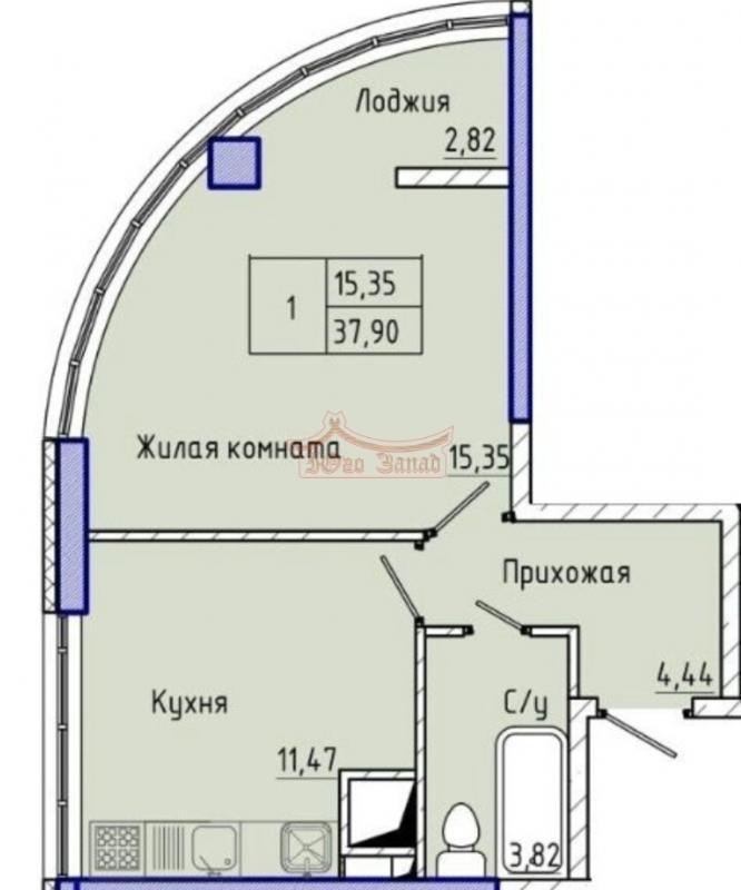 1-комнатная квартира с видом на море | Агентство недвижимости Юго-Запад