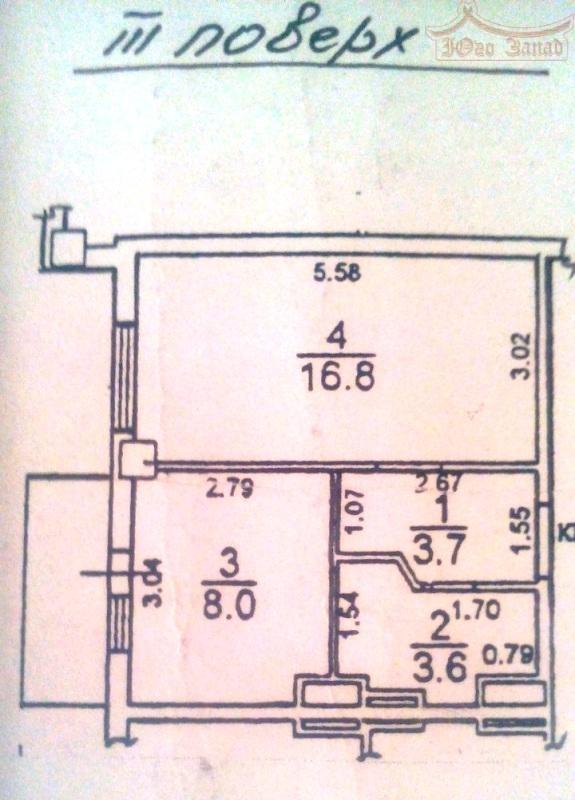 Продам 1 комнатную квартиру в новом доме | Агентство недвижимости Юго-Запад