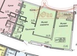 Двухкомнатная квартира в 27 Жемчужине | Агентство недвижимости Юго-Запад