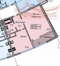 Однокомнатная квартира в 26 Жемчужине | Агентство недвижимости Юго-Запад