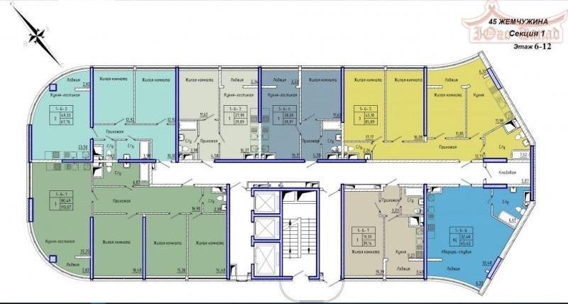 Однокомнатная квартира в 45 Жемчужине   Агентство недвижимости Юго-Запад