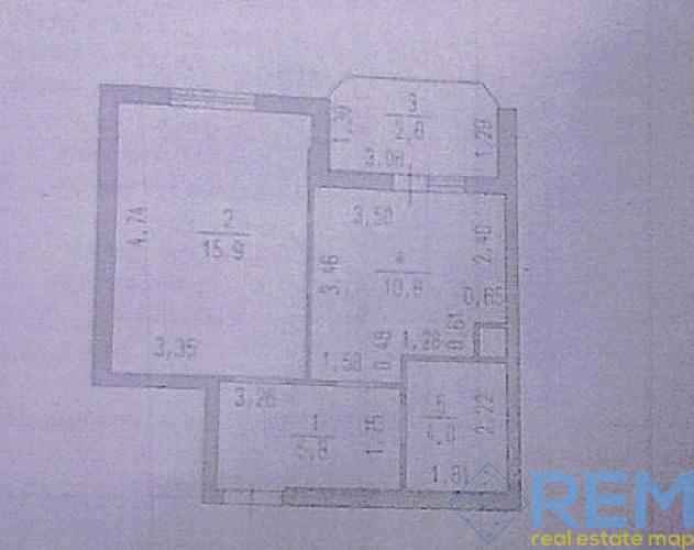 Продам 1 комнатную квартиру в Радужном. | Агентство недвижимости Юго-Запад