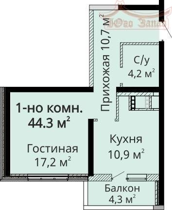Продам 1-к квартиру в ЖК Мандарин | Агентство недвижимости Юго-Запад
