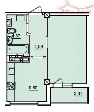 Однокомнатная квартира в 4 Жемчужине | Агентство недвижимости Юго-Запад
