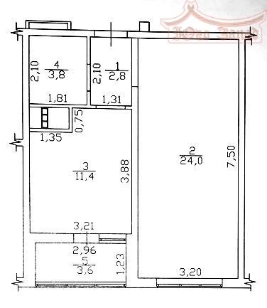 1-комнатная на  Таирова   Агентство недвижимости Юго-Запад