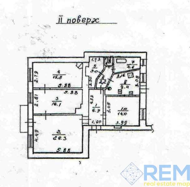 ПРОДАНА 3-х комнатная квартира в центре | Агентство недвижимости Юго-Запад