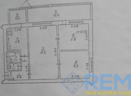 Квартира под офис на Бочарова | Агентство недвижимости Юго-Запад