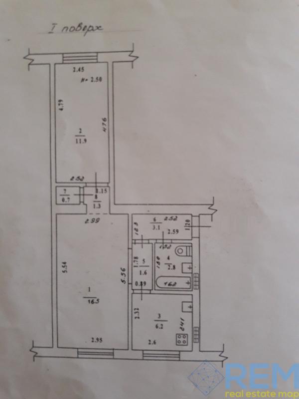 2 комн квартира по ул.  Фонтанская дорога. | Агентство недвижимости Юго-Запад