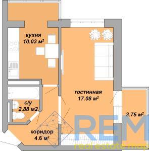 Продам 1-комнатную в ЖК Акварель шикарной планировки!   Агентство недвижимости Юго-Запад