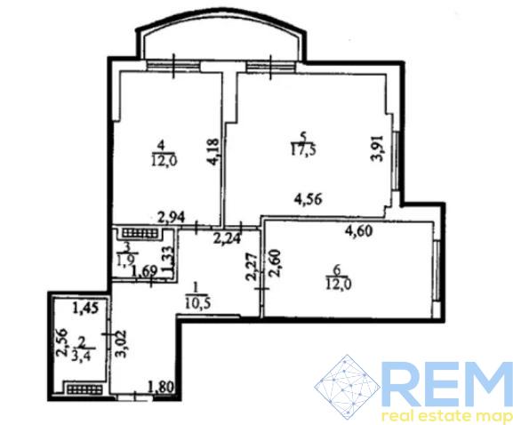 2-комн квартира в ЖК Набережный квартал   Агентство недвижимости Юго-Запад