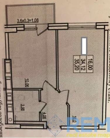 1-комн квартира в ЖК Континент | Агентство недвижимости Юго-Запад