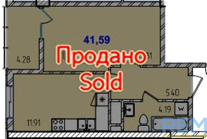 1 комнатная в сданной 40 Жемчужине на Таирово | Агентство недвижимости Юго-Запад