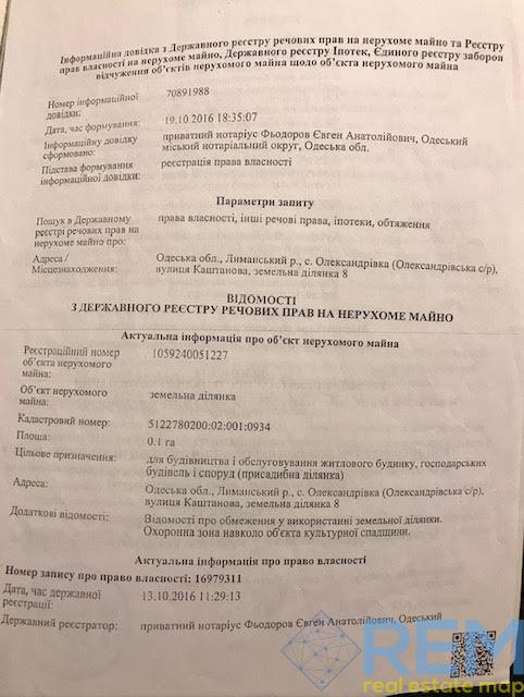 Купите участок в Коминтерновском районе. Александровке | Агентство недвижимости Юго-Запад