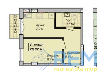 "Продам квартиру в жк ""Беатрис"" на Каманина.  | Агентство недвижимости Юго-Запад"