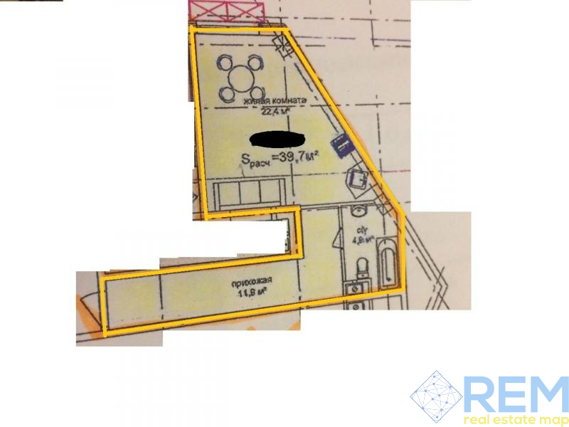 Smart-квартира в новом доме ЖК AQUA MARINE на 16 ст. Большого Фонтана!   Агентство недвижимости Юго-Запад
