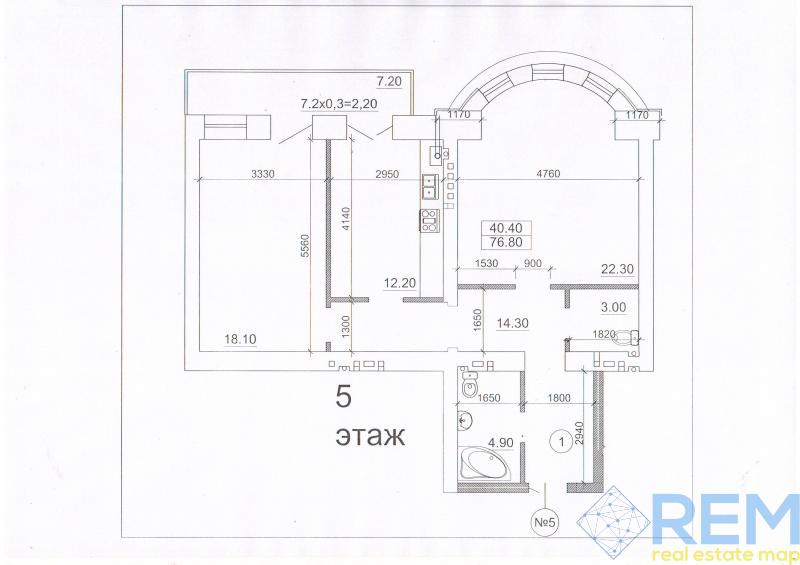 2 комнатная в новом кирпичном доме в центре города | Агентство недвижимости Юго-Запад