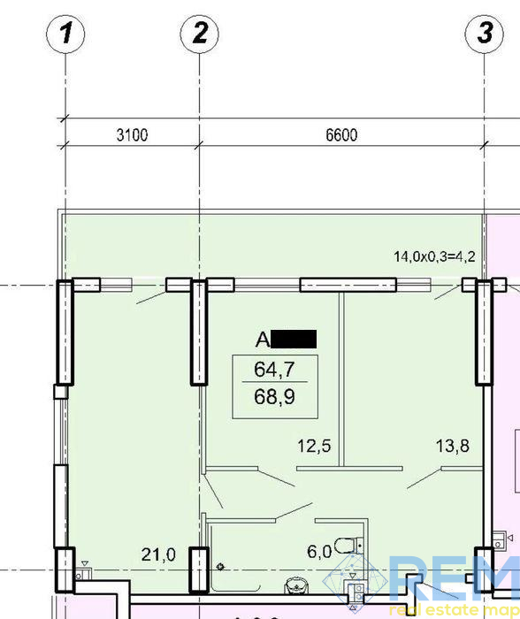 Квартира в ЖК Акрополь 3 | Агентство недвижимости Юго-Запад
