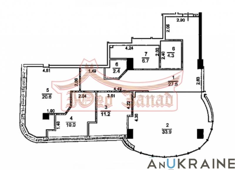 3-х комнатная на Гагаринском Плато   Агентство недвижимости Юго-Запад