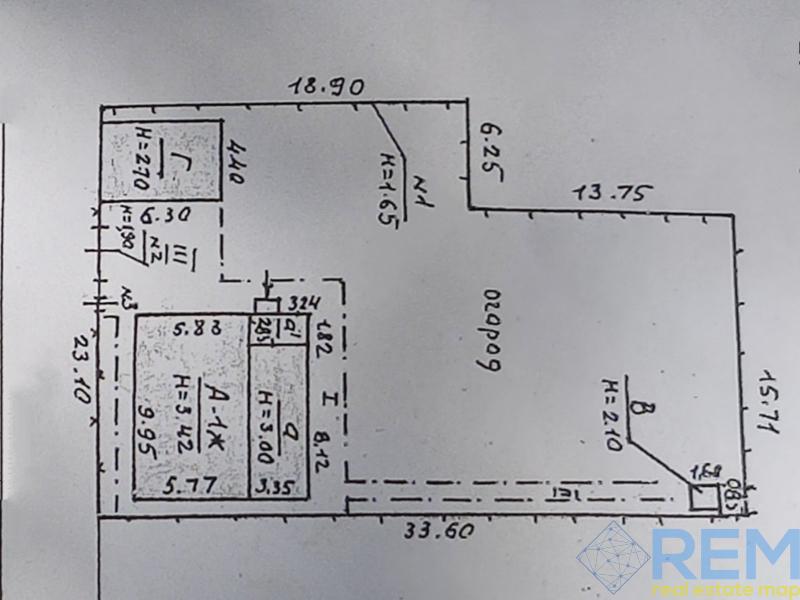 Продается дом 100кв.м под реконструкцию на участке 5,7сот. | Агентство недвижимости Юго-Запад