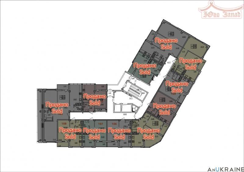 Двухкомнатная квартира в 4 Жемчужине | Агентство недвижимости Юго-Запад