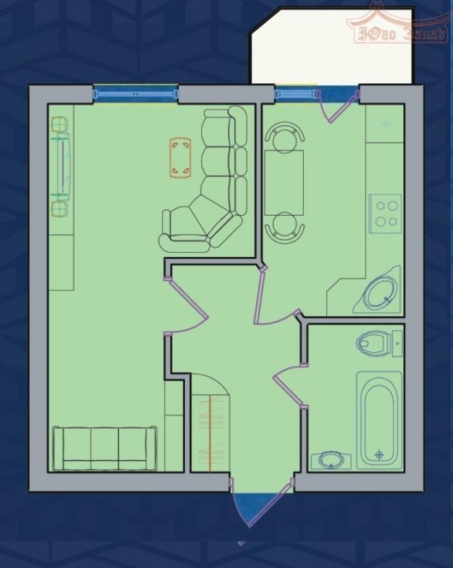 Продается 1 комнатная квартира в новострое в Центре | Агентство недвижимости Юго-Запад