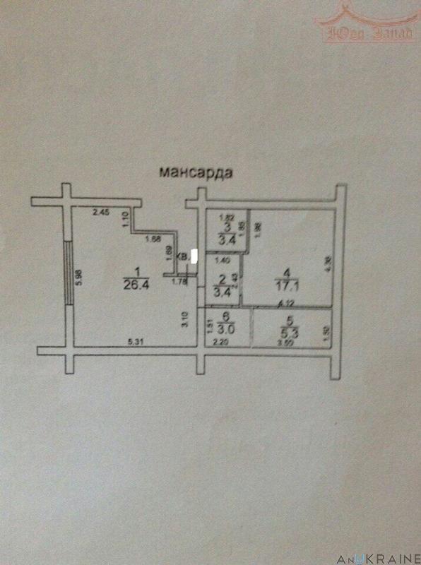 Купите, квартира в малоквартирном доме на Даче КОВАЛЕВСКОГО.   Агентство недвижимости Юго-Запад