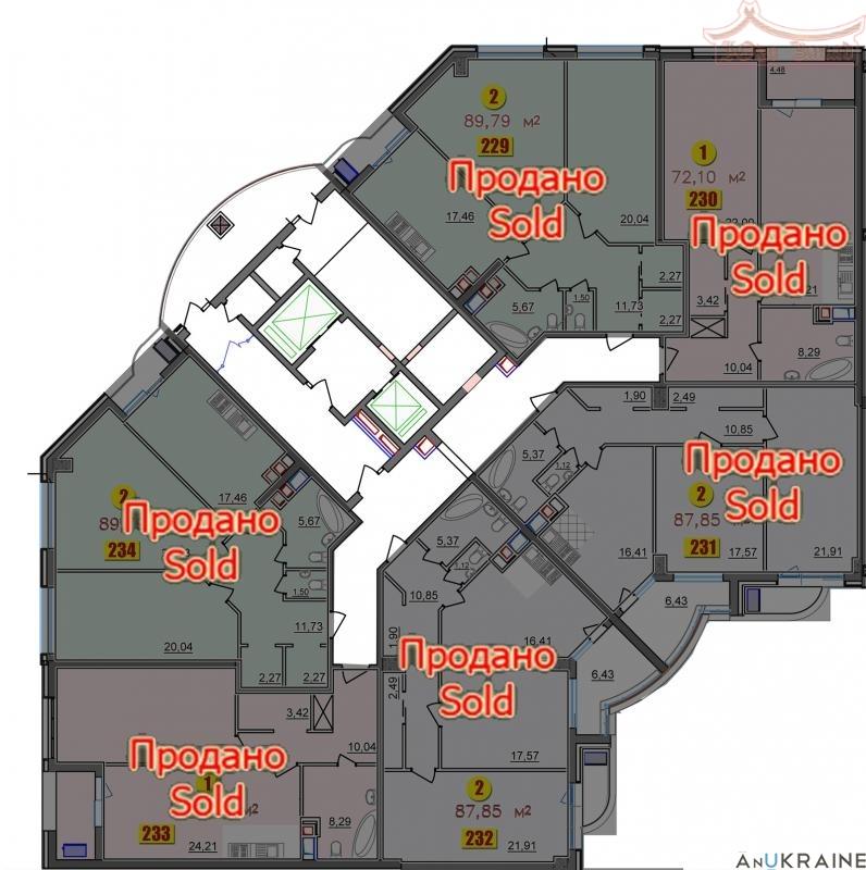 Однокомнатная квартира во Второй Жемчужине | Агентство недвижимости Юго-Запад