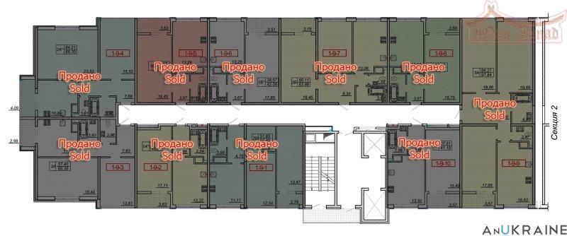 Двухкомнатная квартира в 21 Жемчужине | Агентство недвижимости Юго-Запад