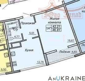 Однокомнатная квартира в 27 Жемчужине   Агентство недвижимости Юго-Запад