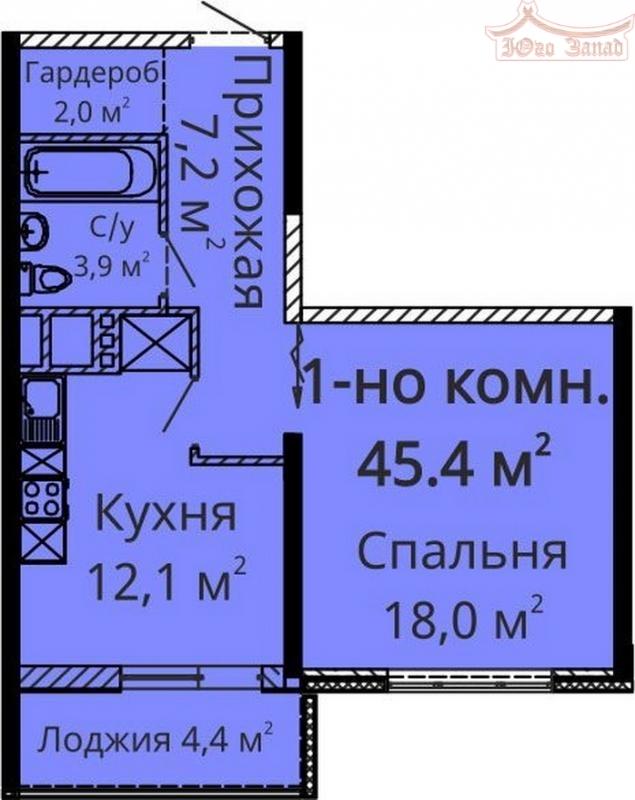 1 комнатная квартира в ДК Апельсин | Агентство недвижимости Юго-Запад