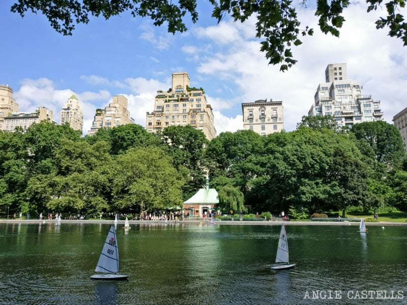 Guia-Central-Park-que-ver-Conservatory-Water-Lago-Barcos
