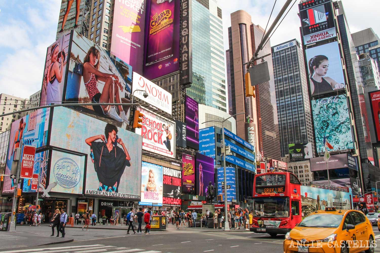 Guía de Times Square: qué ver y hacer