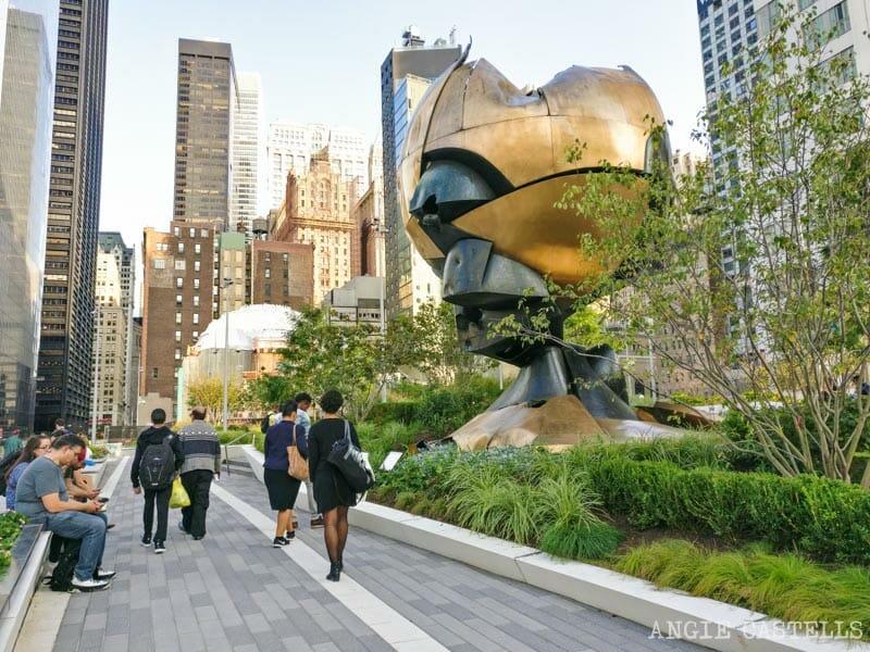 Guía del World Trade Center: el Liberty Park y The Sphere