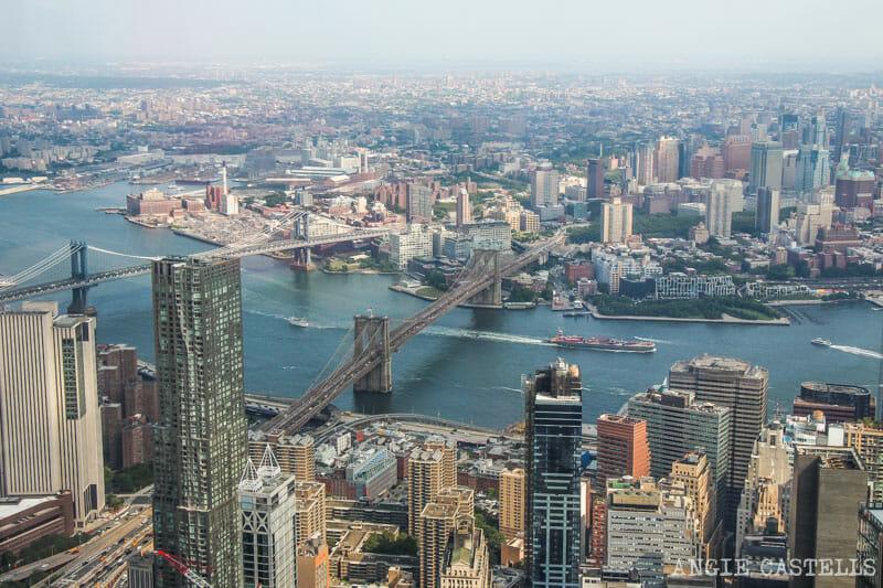 Subir al One World Observatory, el mirador más alto de Nueva York