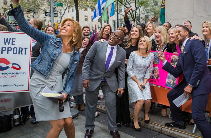 Conciertos gratis en Nueva York del Today Show programación