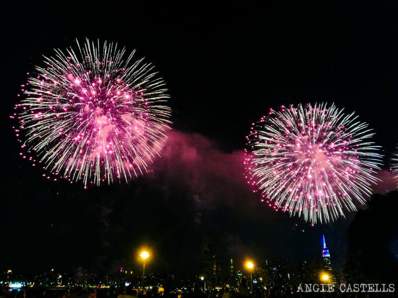Qué hacer en julio en Nueva York: los fuegos artificiales del 4 de julio