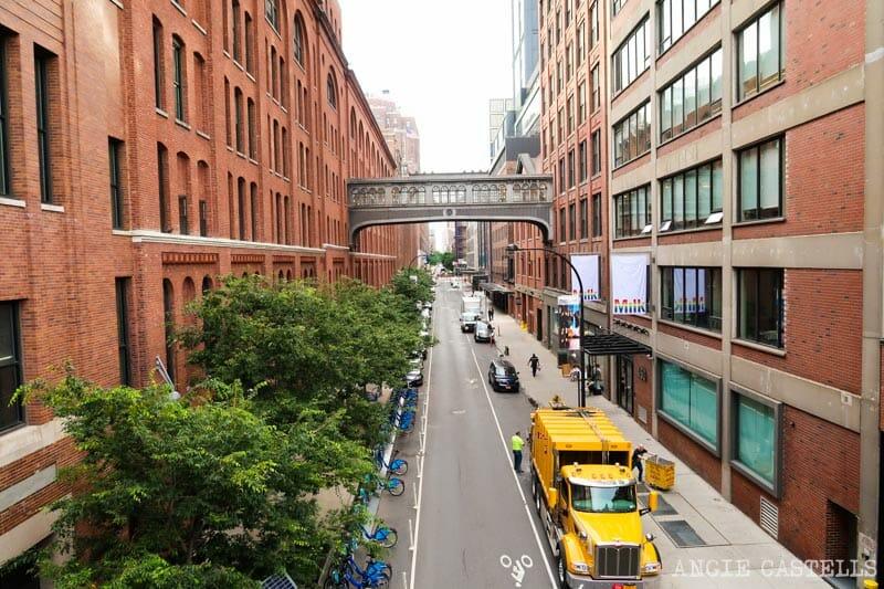 Guía de la High Line - Pasarela del Chelsea Market