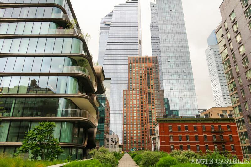 Cómo visitar la High Line - El edificio de Zaha Hadid y Hudson Yards
