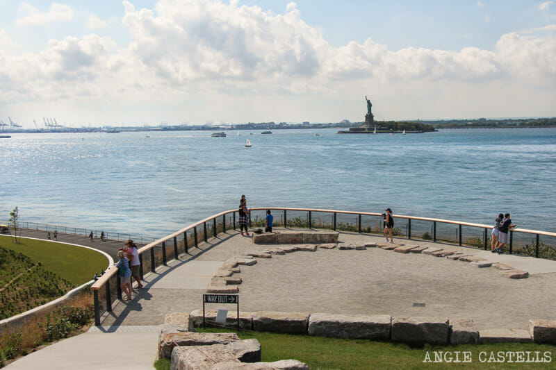Visitar Governors Island Nueva York Estatua de la Libertad 800