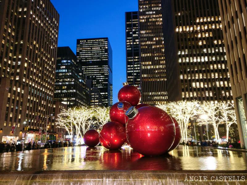Las Navidades en Nueva York - Decoraciones de la 6a Avenida
