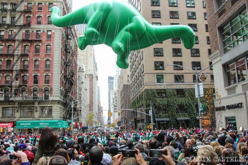 El desfile de Macy's y Acción de Gracias en Nueva York